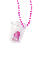 Willy Shot Glass Necklace