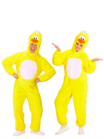Plush Duckling (Hooded Jumpsuit With Mask)