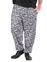 80s Baggy Pants - Zebra