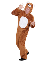 Plush Bear (Hooded Jumpsuit With Mask)