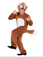 Plush Fox (Hooded Jumpsuit With Mask)