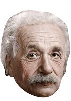 Albert Einstein Mask