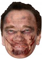 Arnold Schwarzenegger Zombie - Cardboard Mask