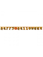 Bunting Happy Halloween Pumpkin Design