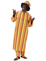 African Man Heavy Fabric Costume