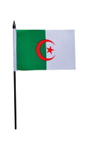 Algeria  Hand Held Flag