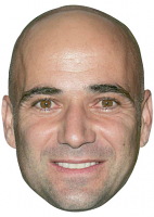 Andre Agassi Mask