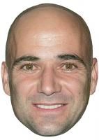 Andre Agassi Mask