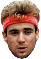 Andre Agassi Young 90's Mask