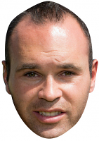Andres Iniesta Mask (Spain)