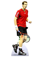 Andy Murray Lifesize Cardboard Cut-out