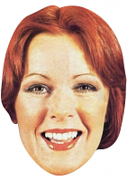 Anni-Frid Lyngstad Young Face Mask