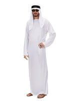 Arab Sheik Costume - White