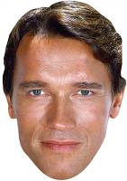 Arnold Schwarzenegger Young Face Mask