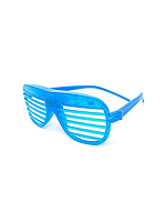 Flashing Shutter Shades - Blue