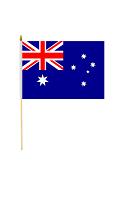 Australia  Hand Held Flag