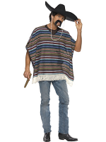 Authentic Looking Poncho (12345)