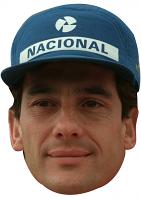 Ayrton Senna Cap Mask