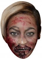 Beyonce Zombie - Cardboard Mask
