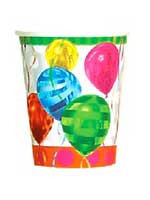 Balloon Brights Paper Cups - 8 per pack