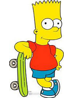Bart Simpson Cardboard Cutout