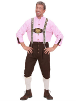 Bavarian Man Heavy Fabric Costume