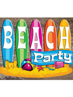 Beach Summer Theme and Decoration Pack - Standard