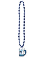 Beads with Beer Stein Medallion 36""