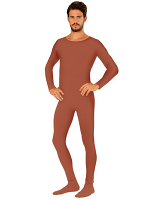 Beige Bodysuit - Mens