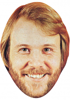 Benny Andersson Young Face Mask