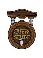 "Bier Stube Cutout 18"""