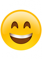 Big Smile Emoji Mask