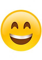 Big Smile Emoji Mask