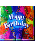 Birthday Jubilee Party Napkins Pack Of 16