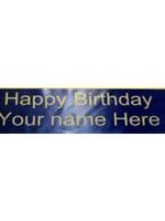Birthday Name Sash