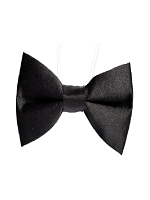 Black Bow Tie Black Bow Tie on elastic string
