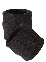 Black Wrist Sweatbands