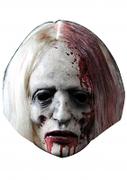 Bloody Blonde Zombie - Cardboard Mask