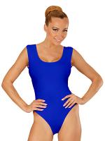 Blue Sleeveless Body (Buttons Closure)