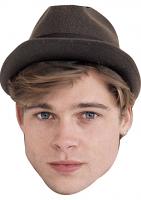 Brad Pitt Young Face Mask