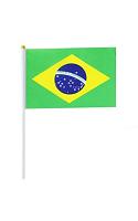 Brazil Hand Held Flag