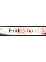 Bridesmaid Hen Night Sash