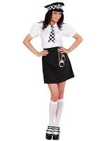 British Police Girl Costume