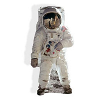 Buzz Aldrin (Spaceman) Cardboard Cutout