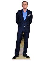 Daniel Craig Life-size Cardboard Cutout