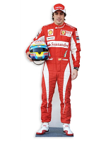 Fernando Alonso Life-size Cardboard Cutout