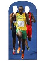 Usain Bolt Stand- In Life-size Cardboard Cutout