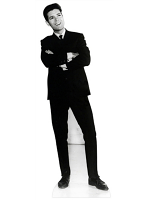 Cliff Richard Black and White Classic Cardboard Cutout