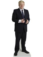 Boris Johnson Cardboard Cutout Conservative Party