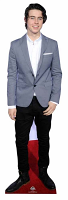 Nash Grier Life-sized cardboard cutout